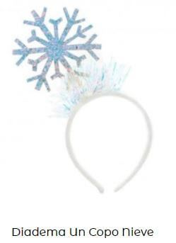 diadema corona elsa frozen