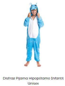disfraces de animales de la selva niño hipopotamo