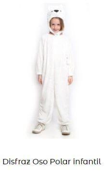 disfraces de animales originales oso polar