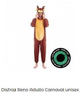 disfraces de animales de la selva adulto reno
