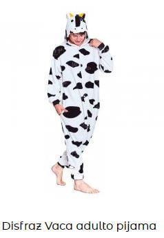 animales de granja disfraces adulto vaca