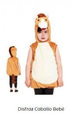animales de granja disfraces bebés caballo