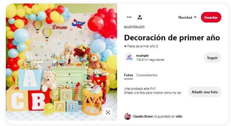 diy decoración fiesta primer cumpleaños ideas muñecos