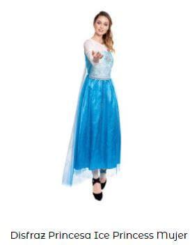 disfraz fiesta frozen mujer decoración cumpleaños