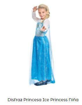 disfraz fiesta frozen niña decoración cumpleaños