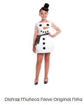disfraz olaf de frozen niña