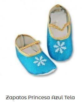 disfraz fiesta frozen zapatos decoración cumpleaños