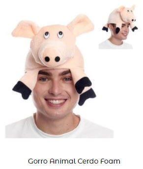 gorro día mundial de los animales cerdo