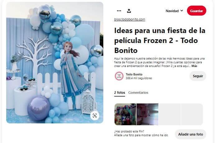 ideas fiesta cumpleaños frozen