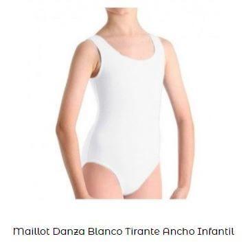 maillot vestuario de ballet básico