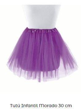 tutu morado vestuario de ballet niña