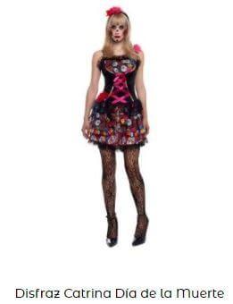 disfraces de catrina mujer Halloween