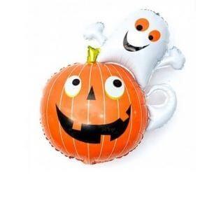 globos ideas decoración halloween