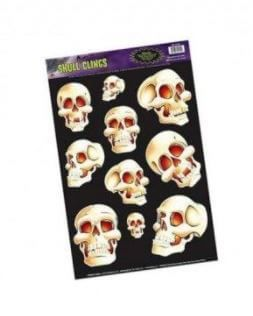 pegatinas calaveras decoración halloween