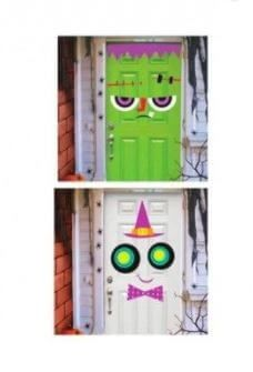 de coración pegatinas gigantes puerta halloween