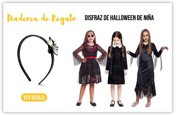Regalo de Halloween por compra disfraz niña