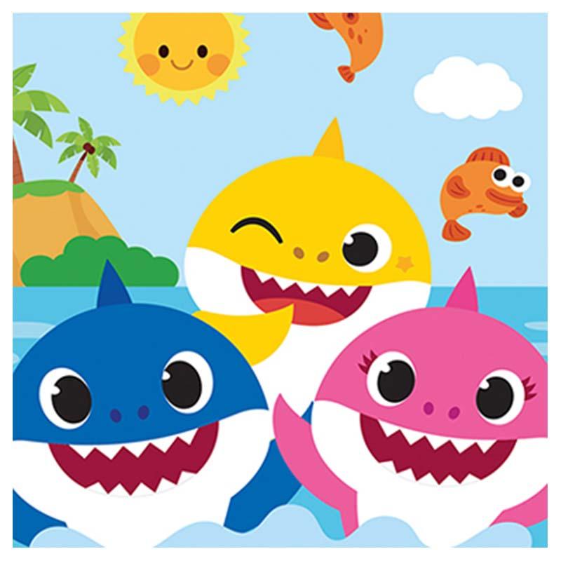 Decoración Cumpleaños Baby Shark