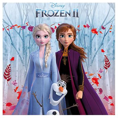 Decoración Cumpleaños Frozen 2