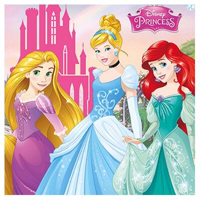 Decoración Cumpleaños Princesas Disney