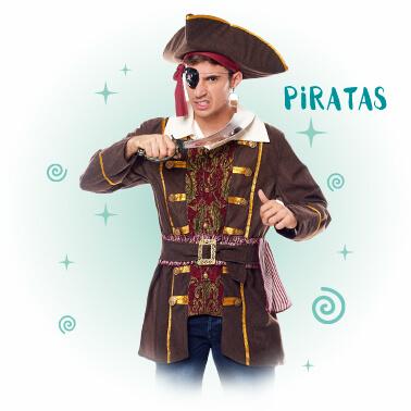 Disfraces Piratas Corsarios