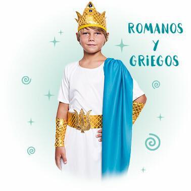 Disfraces Romanos y Griegos