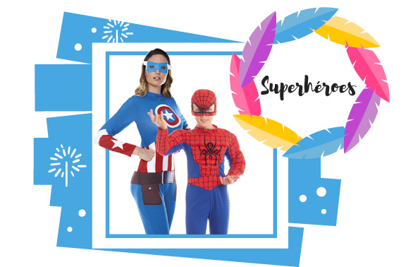 Disfraces Superhéroes Superheroínas Villanos