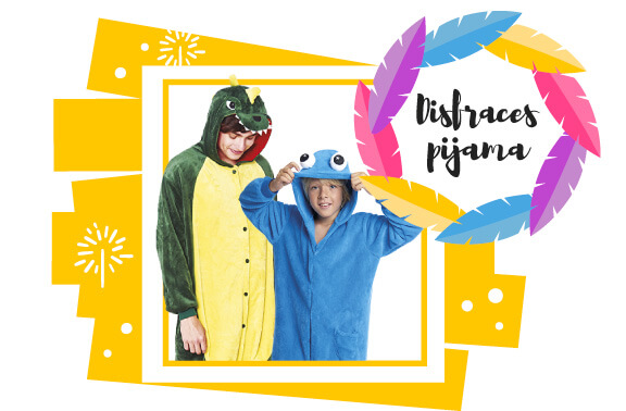 Disfraces pijamas enteros animales